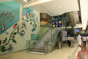 Day 1 on the Dubai Metro